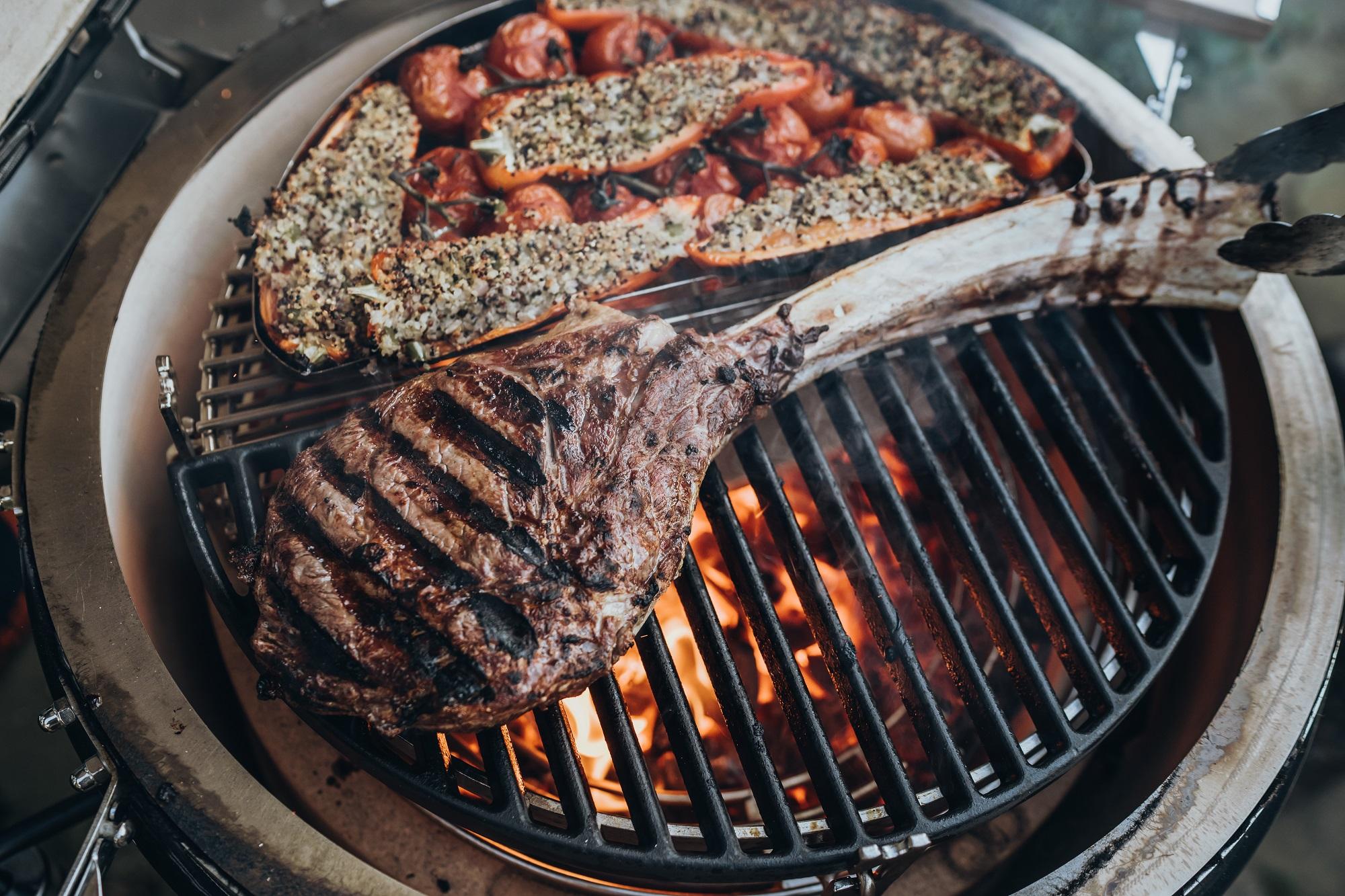 barbecue en hiver
