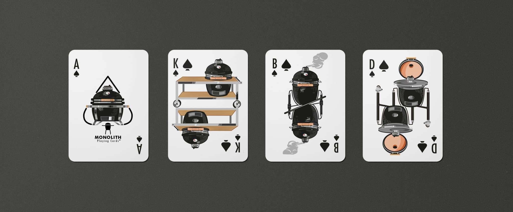 Monolith Kamado Kartenspiel