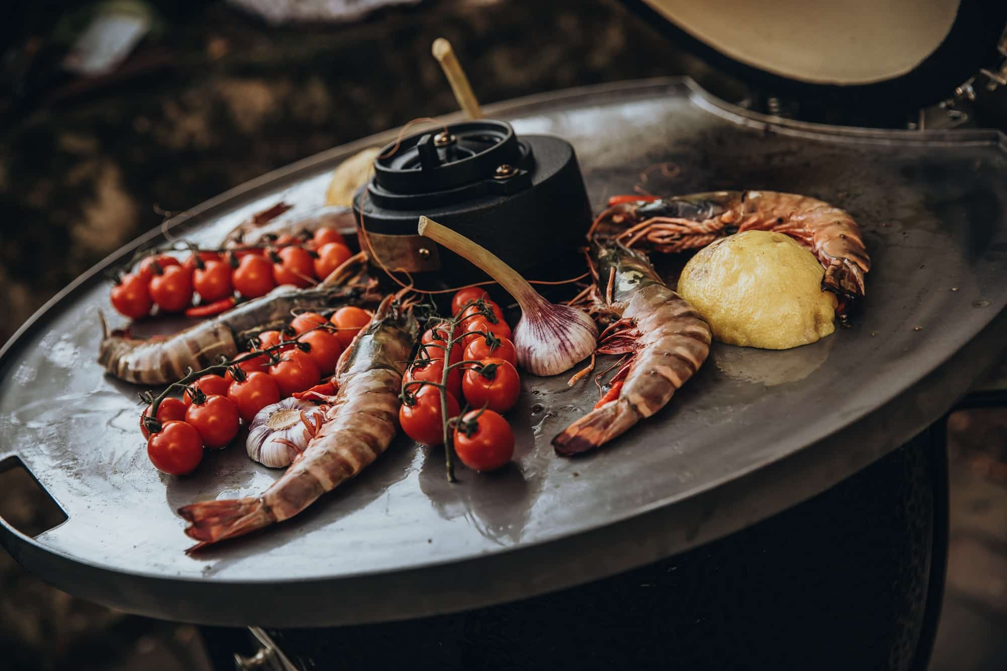 herfst barbecue