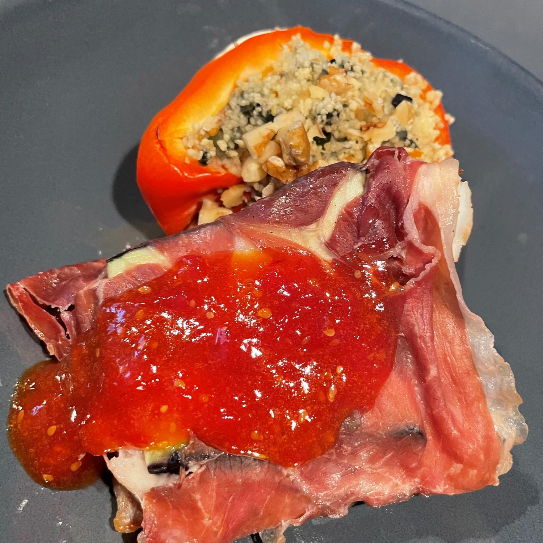 Kabeljauw pakketjes met tomatenjam (5)