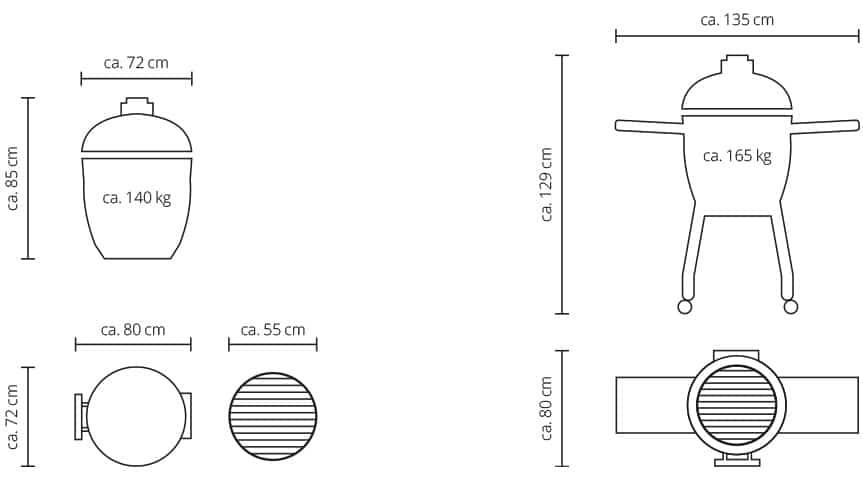 Monolith LeChef Maße