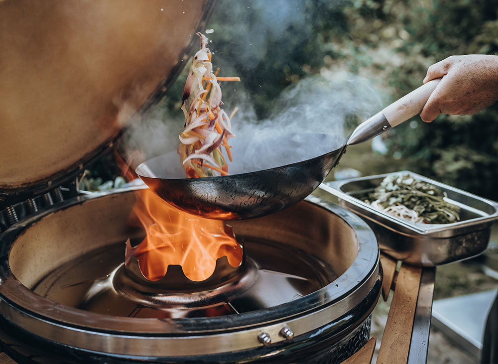 barbecue kamado