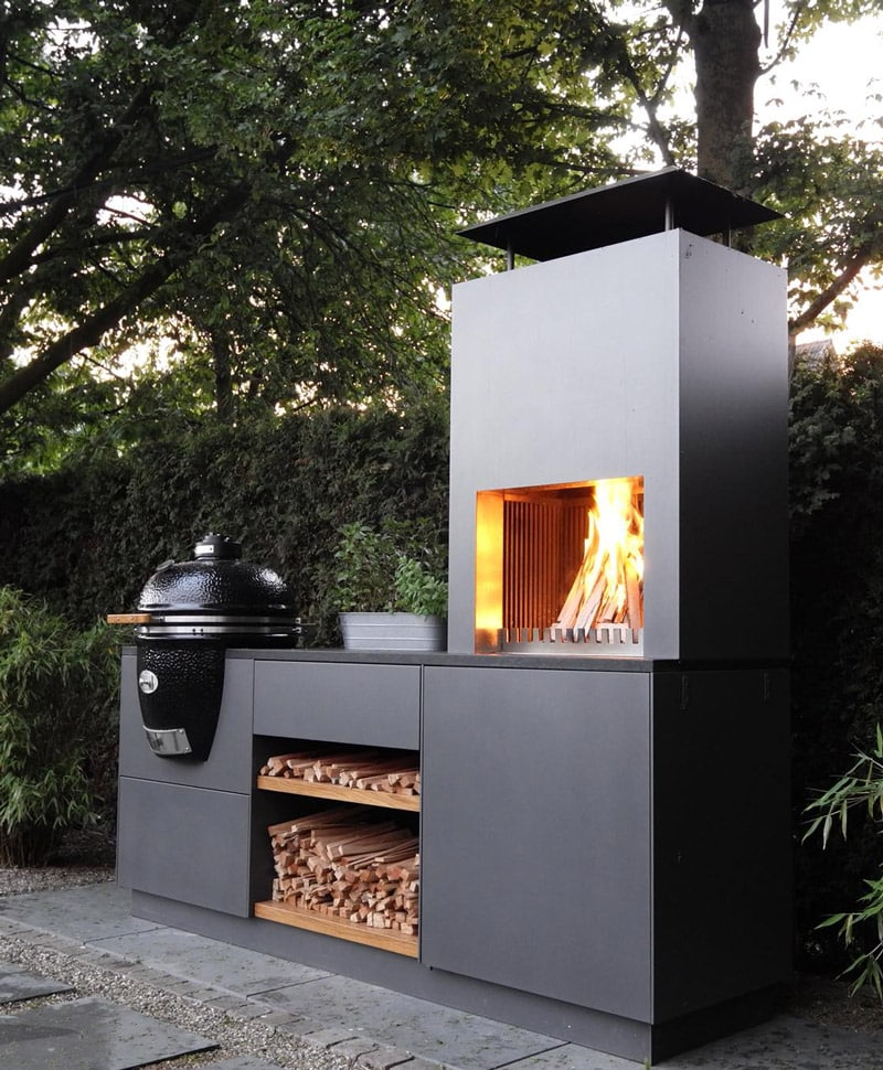 Outdoor Küche Grill