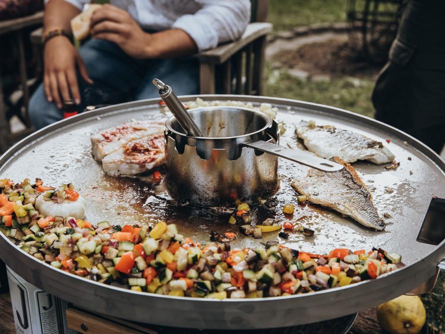 Grill Feuerplatte