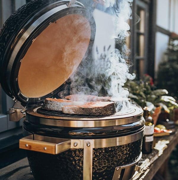 Kamado Grill Temperatur