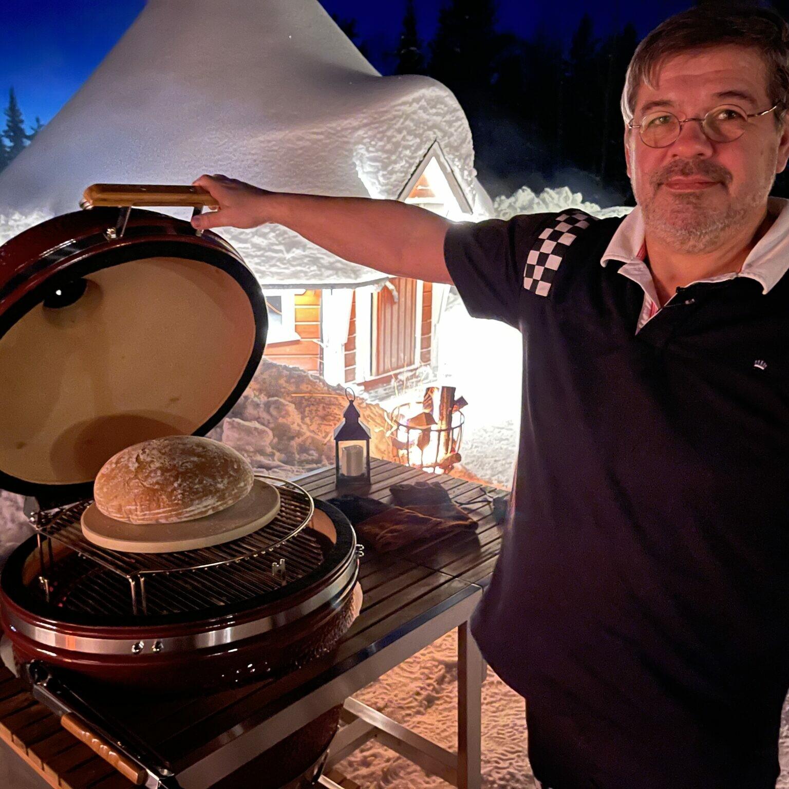 Keramikgrill Ostern Backen