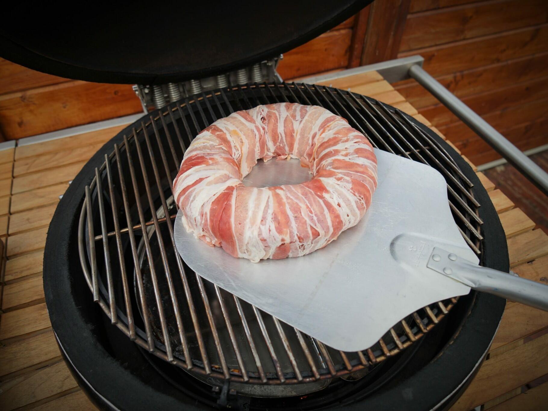 Bacon Käse Grill Rezept