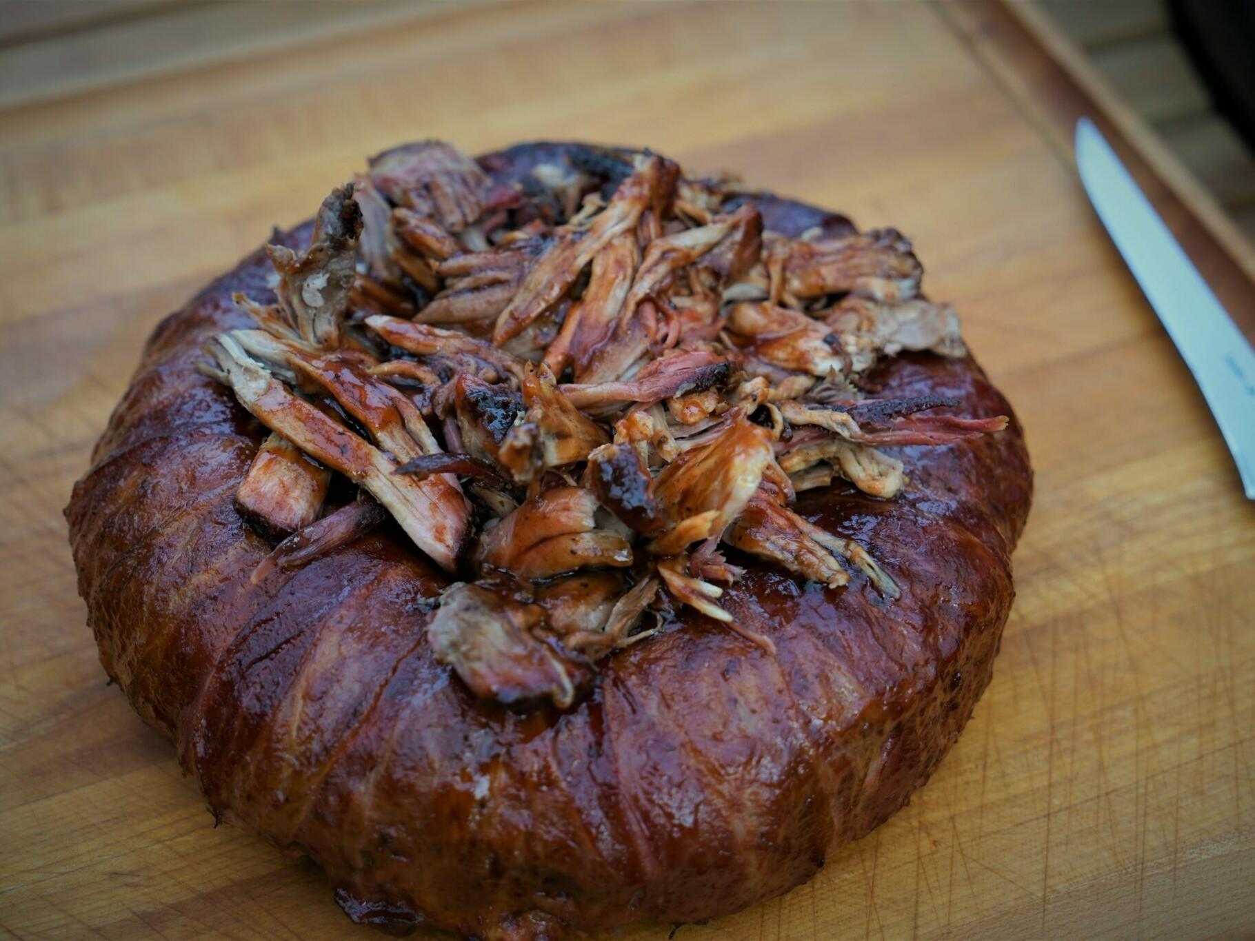 Hack Ring Bacon Rezept Grill